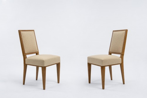 Jacques Quinet  pair of chairs  -