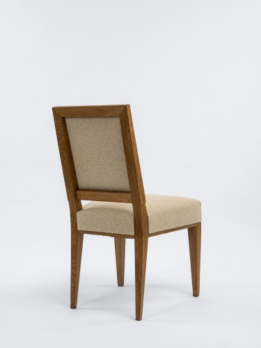 20th century - Jacques Quinet  pair of chairs