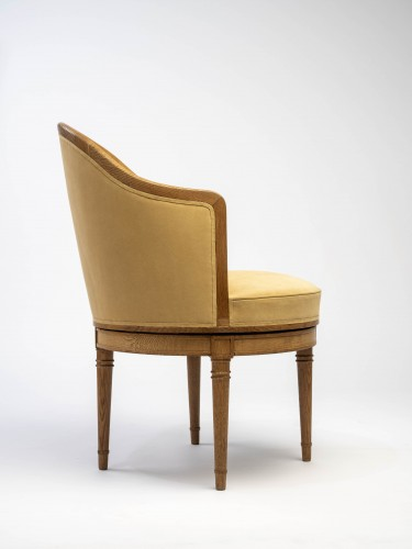 Jean-Michel Frank (1893-1941 - swivel Chair  - Seating Style Art Déco