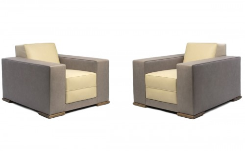 Paul Dupré Lafon - Pair of armchairs