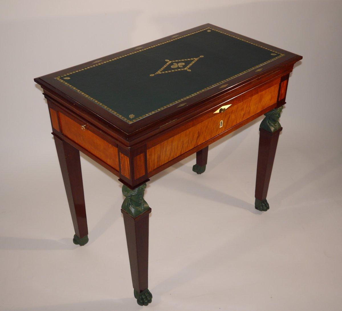 ... By Jacob   Furniture Style Empire Architect Table U0026quot;à La  Tronchinu0026quot; ...