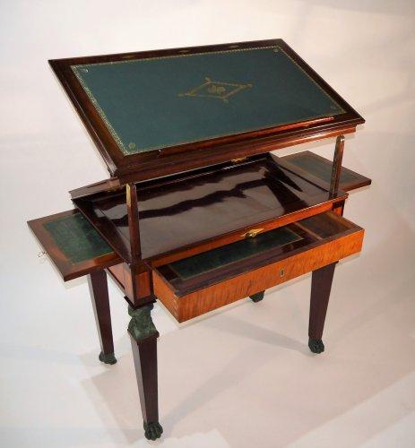 """19th century - Architect Table """"à la Tronchin"""" by Jacob"""