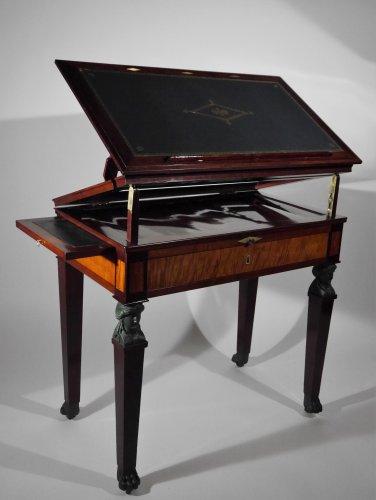 """Empire - Architect Table """"à la Tronchin"""" by Jacob"""