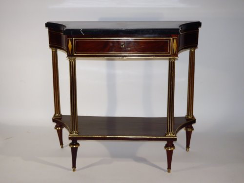 Console Louis XVI of the Revolution period, 18th century - Furniture Style Louis XVI