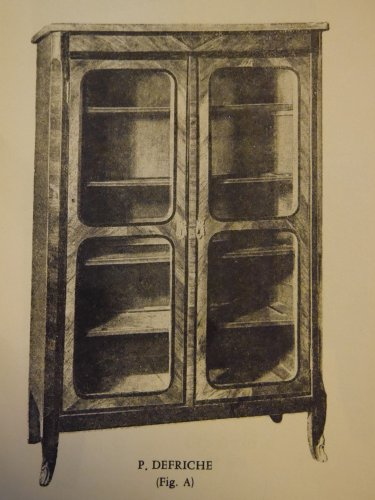 Bookcase of the Louis XVI period, stamped P Defriche - Louis XVI
