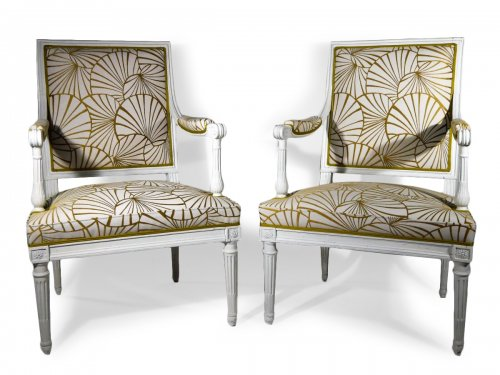 A pair of armchairs by Georges Jacob