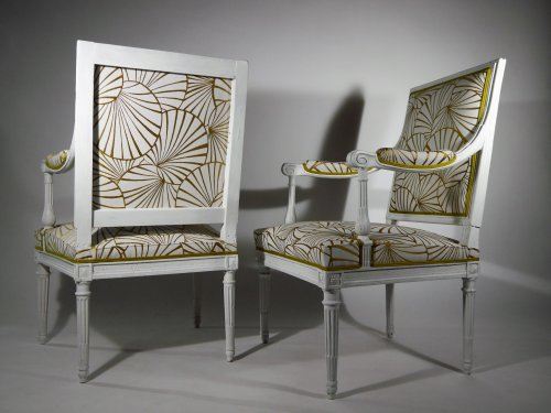 Seating  - A pair of armchairs by Georges Jacob