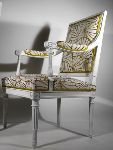 A pair of armchairs by Georges Jacob -
