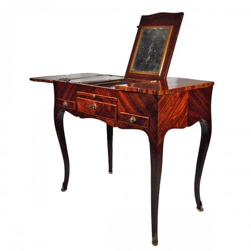 Louis XV dresser stamped J B Gallet