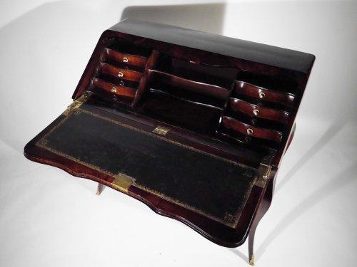 Louis XV writing desk stamped HF - Furniture Style Louis XV