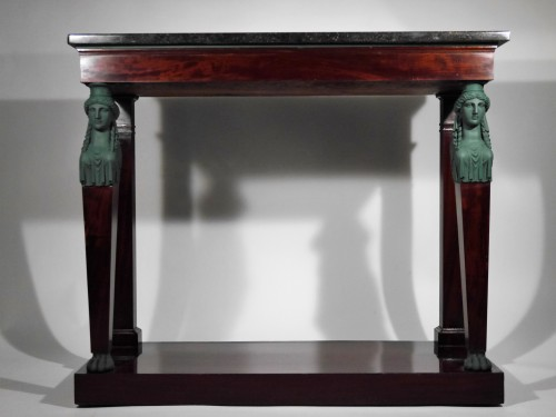 Consulate or Empire Console by Biennais - Furniture Style Empire