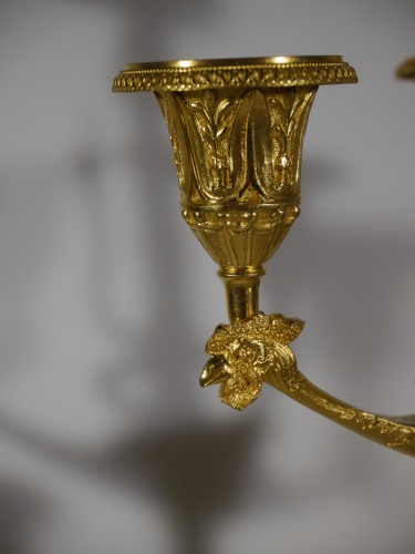 Lighting  - Important pair of candelabra by Thomire