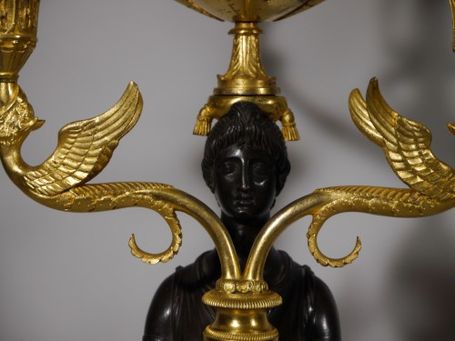 Important pair of candelabra by Thomire - Empire