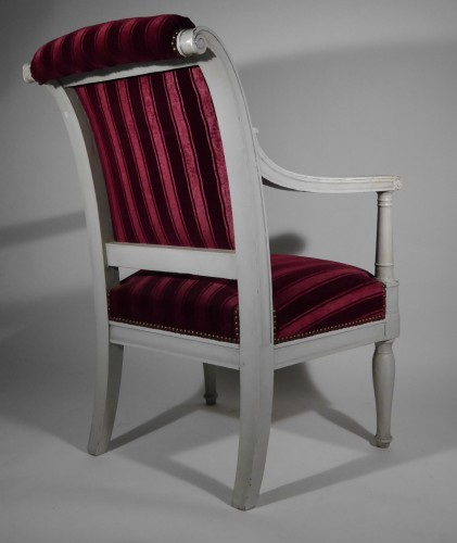 Empire armchair stamped Jacob D rue Meslée, 19th century - Seating Style Empire
