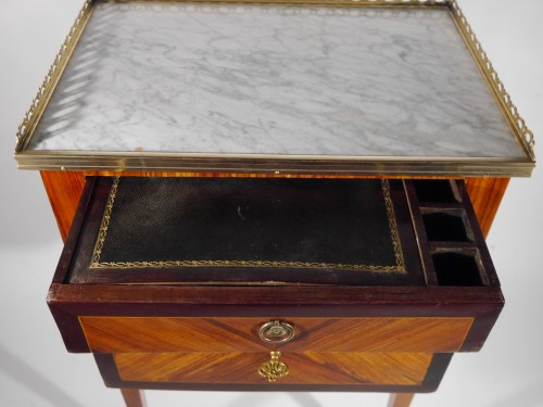 18th century - A Louis XVI working table or bedside table, stamped F Schey, 18th century