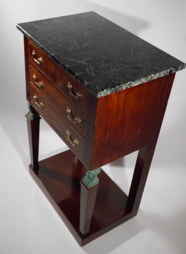 An Empire side table -