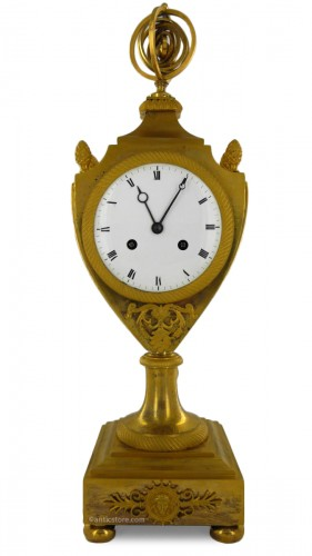 An Empire clock, eary 19th century