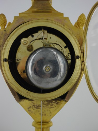 Empire - An Empire clock, eary 19th century