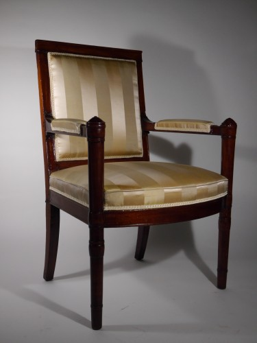 Seating  - An Empire armchair stamped Jacob D rue Meslée
