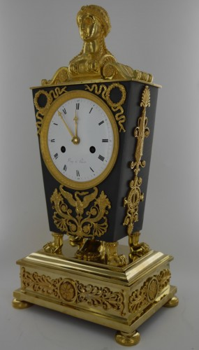 "Clocks  - ""Etruscan"" clock, Empire period"