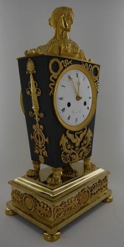 """19th century - """"Etruscan"""" clock, Empire period"""