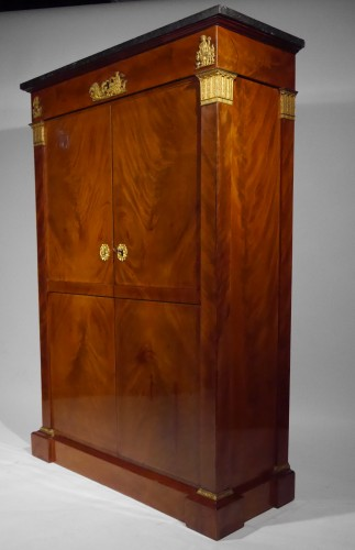 Furniture  - An Empire wardrobe attributed to Thomire & Duterme