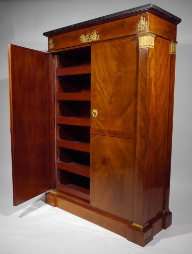 An Empire wardrobe attributed to Thomire & Duterme -