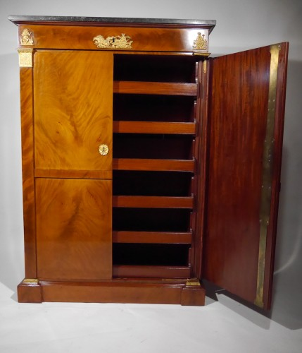 19th century - An Empire wardrobe attributed to Thomire & Duterme