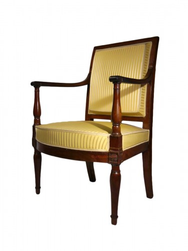 A Directoire armchair, stamped by Georges Jacob