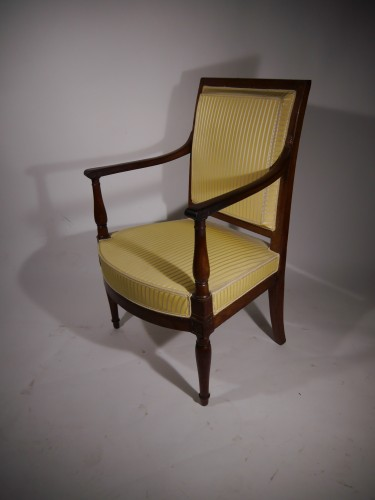 A Directoire armchair, stamped by Georges Jacob - Seating Style Directoire