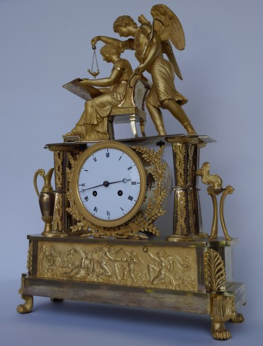 Big Empire mantel clock, beginning of the 19th century - Clocks Style Empire