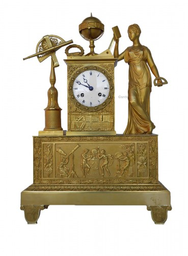 Mantel clock of astronomie around 1810-1820