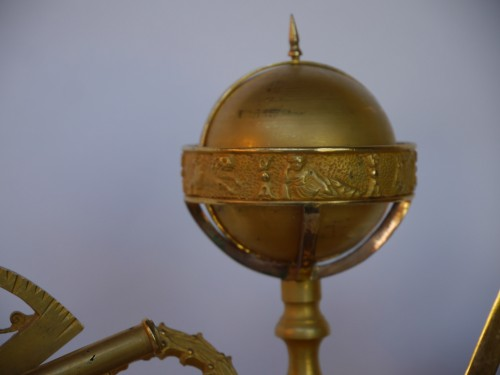 Mantel clock of astronomie around 1810-1820 - Clocks Style Empire