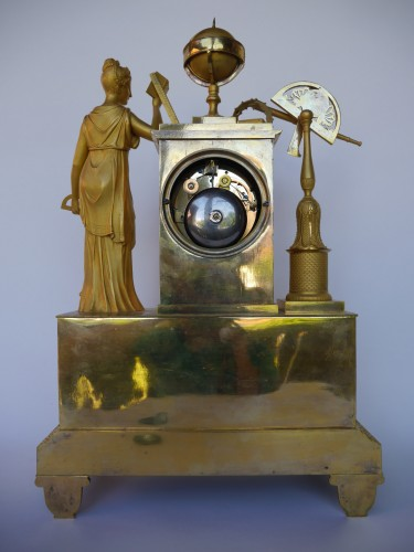 Mantel clock of astronomie around 1810-1820 - Empire
