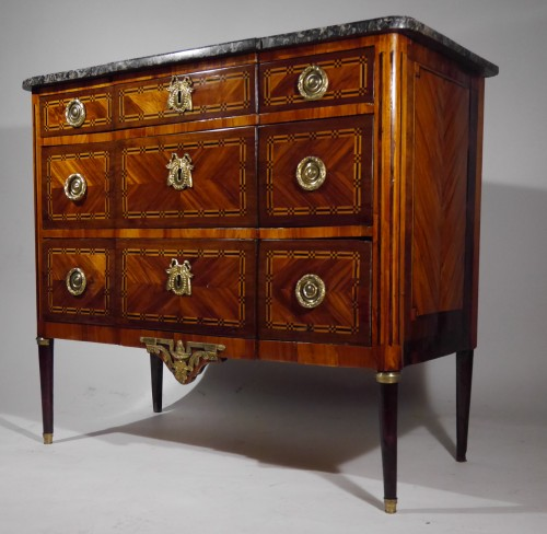 Furniture  - French Louis XVI Commode  stamped Magnien