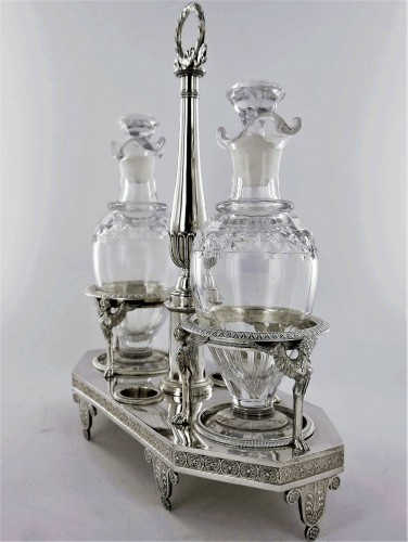 Silver cruet of Empire period by Biennais - Antique Silver Style Empire