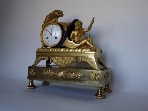 Empire mantel clock, 19th century - Clocks Style Empire