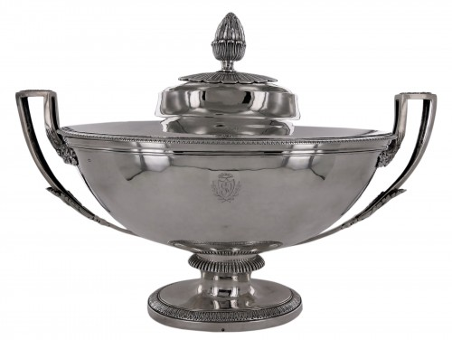 An Empire soup tureen by C. M. Granger