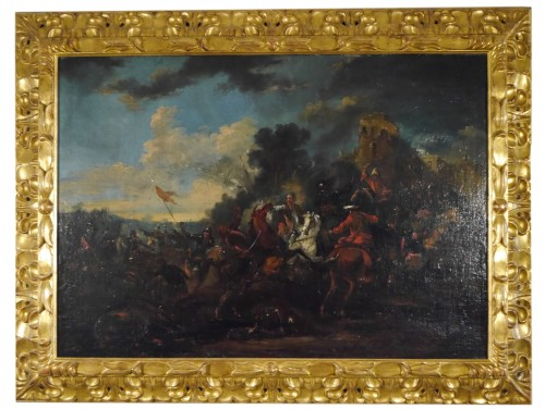 August Querfurt (1694-1761), Battle against the Turks