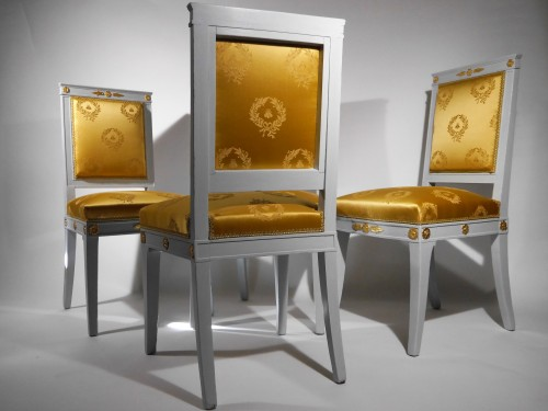 Set of 4 chairs by Jacob -