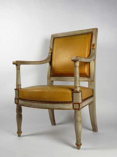 Seating  - French Empire armchair from the Palais de Compiègne, stamped Jacob