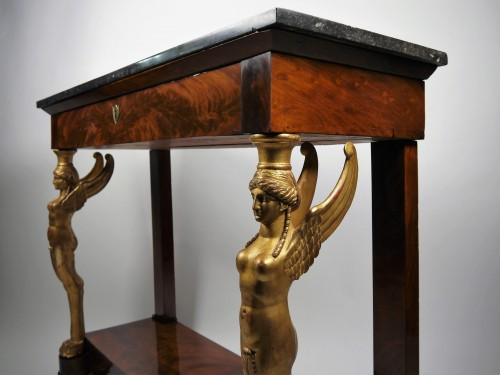 19th century - An Empire console, beginning of the 19th century
