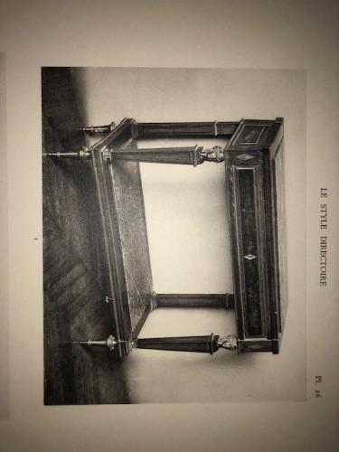 Directoire - A Directoire console in mahogany et citronnier, 18th century