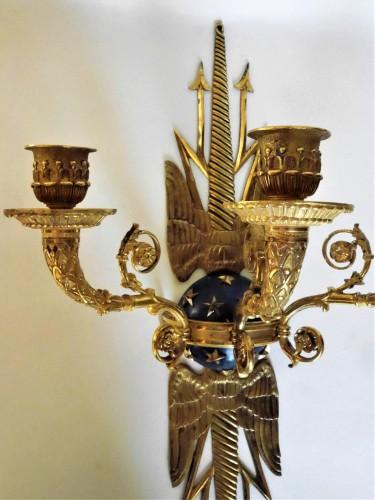 Pair of Empire sconces by Ravrio - Lighting Style Empire