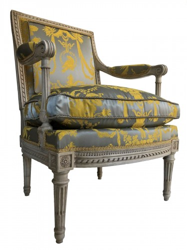 A Louis XVI armchair from the Tuileries Palace