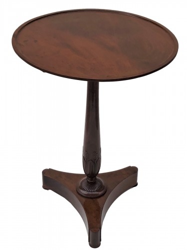 An Empire pedestal table by Maigret