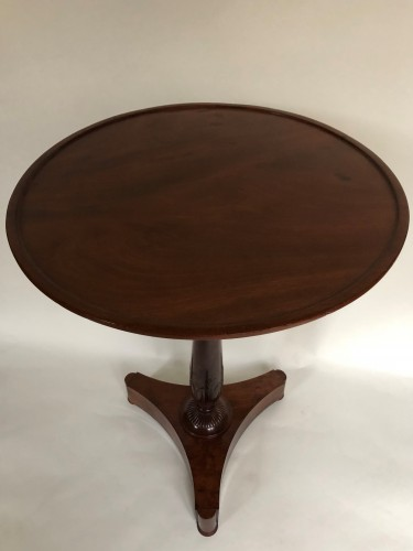 19th century - An Empire pedestal table by Maigret