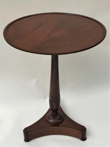 Antiquités - An Empire pedestal table by Maigret