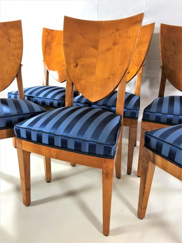 Suite de 6 chaises estampillées de Jacob Desmalter - Empire