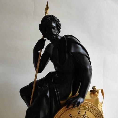 19th century - A rare Empire pendulum, early 19th century